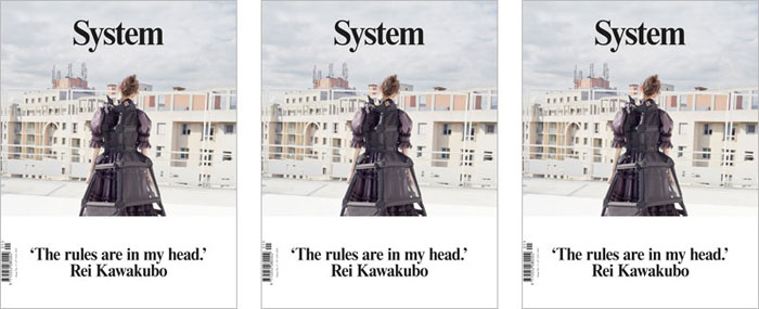 EXCLUSIVE PRE-LAUNCH OF SYSTEM MAGAZINE AT DOVER STREET MARKET